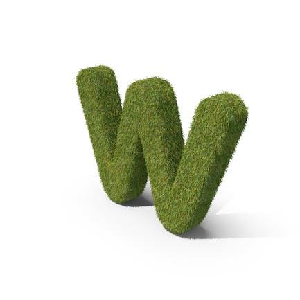 Grass Kleinbuchstabe W