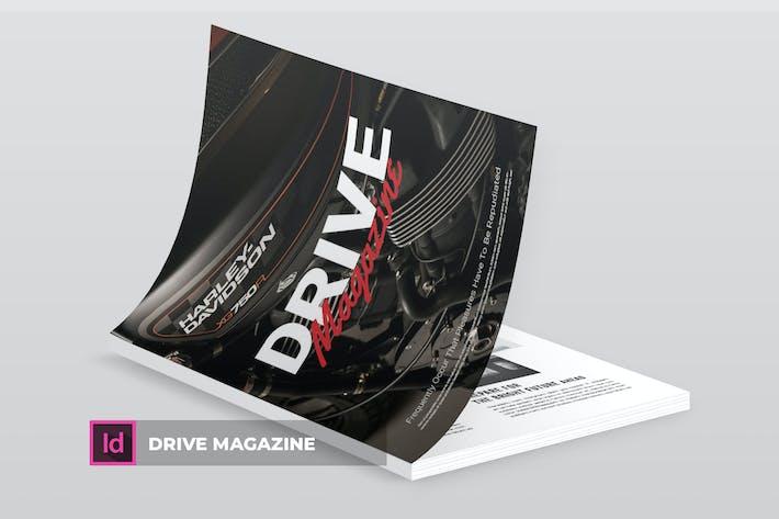 Thumbnail for Drive | Magazine Template