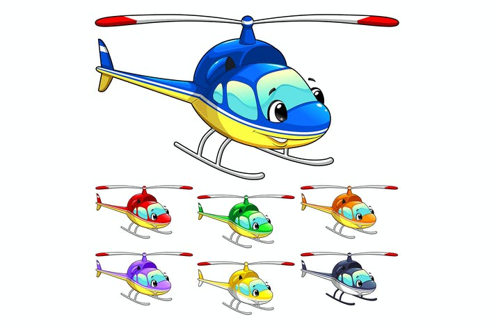 Thumbnail for Funny helicopter.