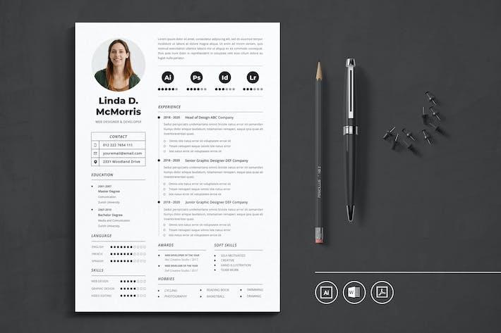 CV Resume Vol.36