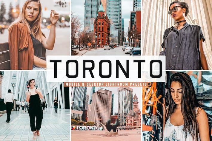 Thumbnail for Toronto Mobile & Desktop Lightroom Presets