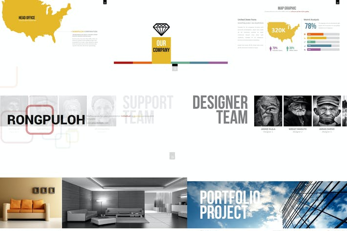 Thumbnail for Rongpuloh - Powerpoint Template