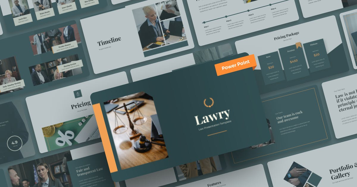 Download Lawry - Law PowerPoint Presentation by mhudaaa