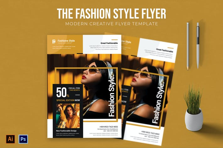 Thumbnail for Fashion Style - Flyer