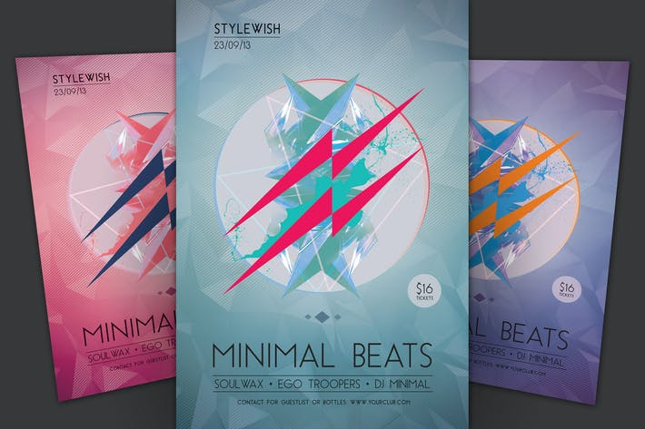 Thumbnail for Minimal Beats Flyer