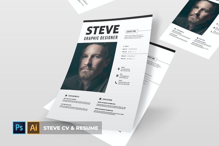 Cover Image For Стив | Резюме и резюме