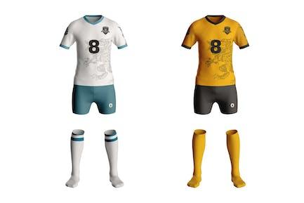 Football Kit T-Shirt Mockup