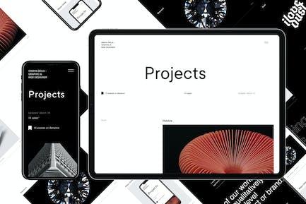Delia | WordPress Theme For Freelancer + dark mode