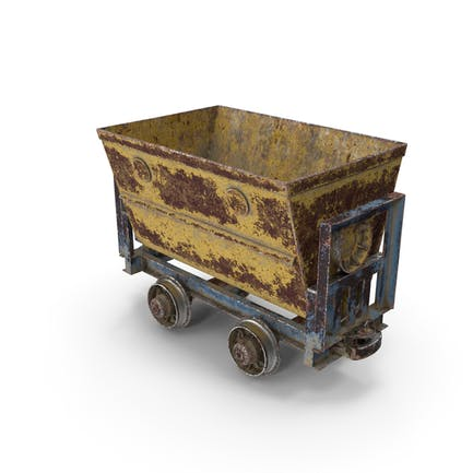 Mining Cart Rusted