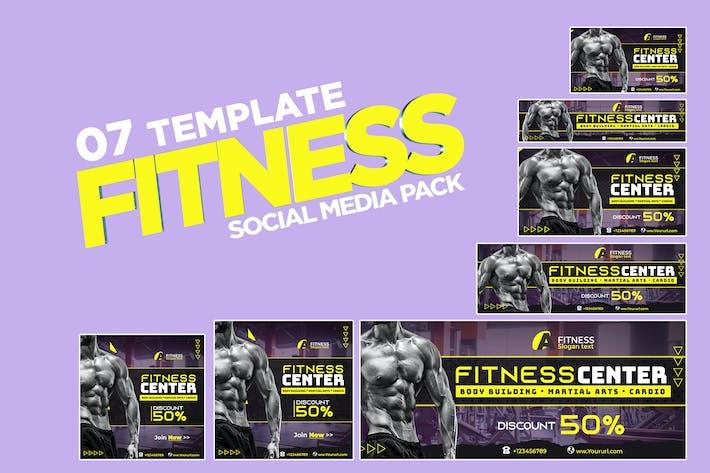 Thumbnail for Fitness social media pack