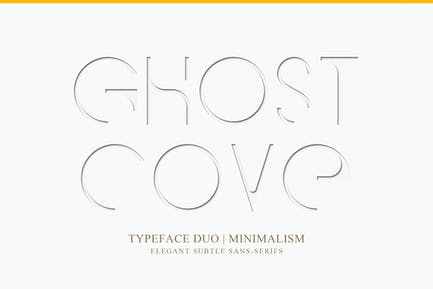 Ghost Cove   Omega Sans   Font Duo
