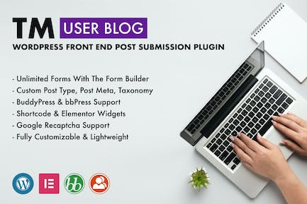 TM User Blog - WordPress Front End Post Submission