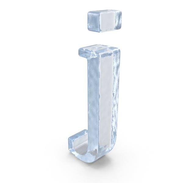 Ледяная строчная буква j