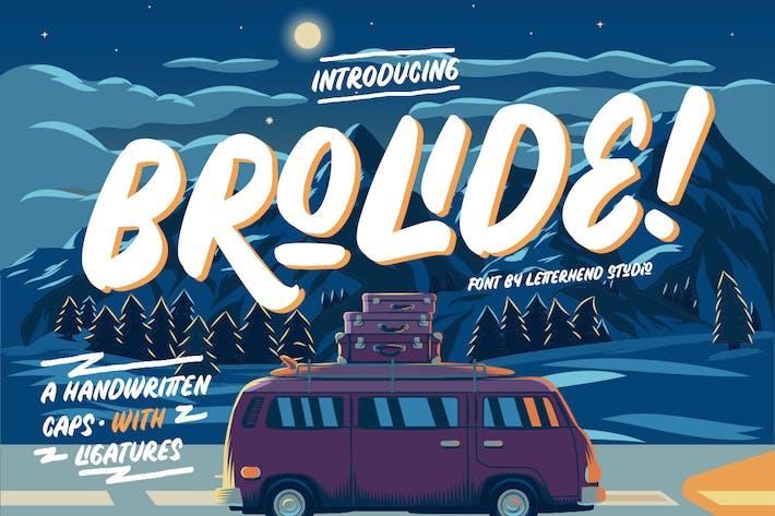 Cover Image For Brolide Playful Sans