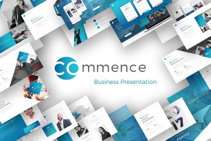 Cover Image For Commence Business Presentation
