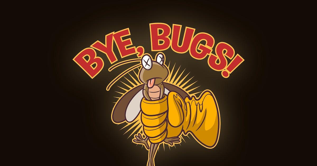 Download Cartoon Pest Control Mascot Logo by Suhandi
