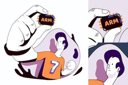 ARM-Prozessor übernimmt