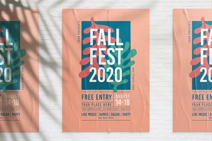 Thumbnail for Fall Fest Flyer