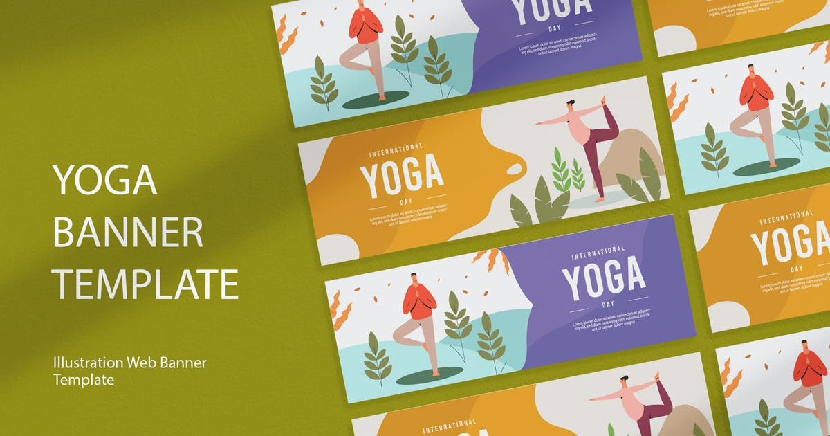International Yoga Day Banner By Visualcolony On Envato Elements