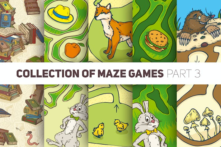 Thumbnail for Maze Games. Animal Collection