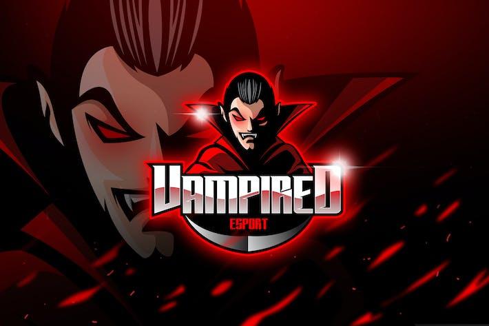 Thumbnail for Vampired - Талисман и Логотип Esport