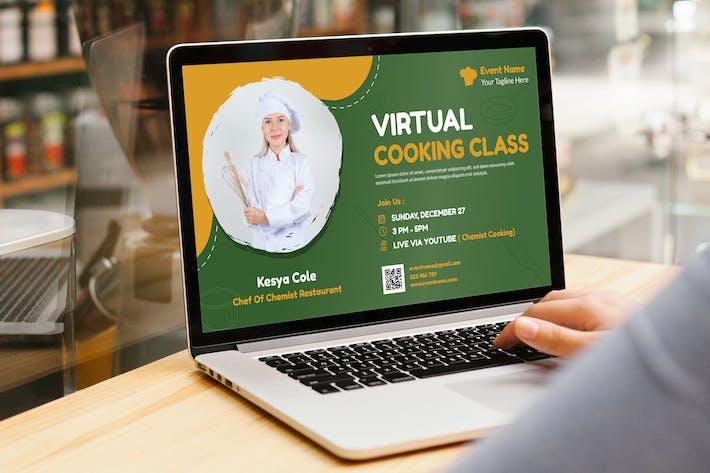 Cours de cuisine en ligne/Événement de formation en ligne Digita