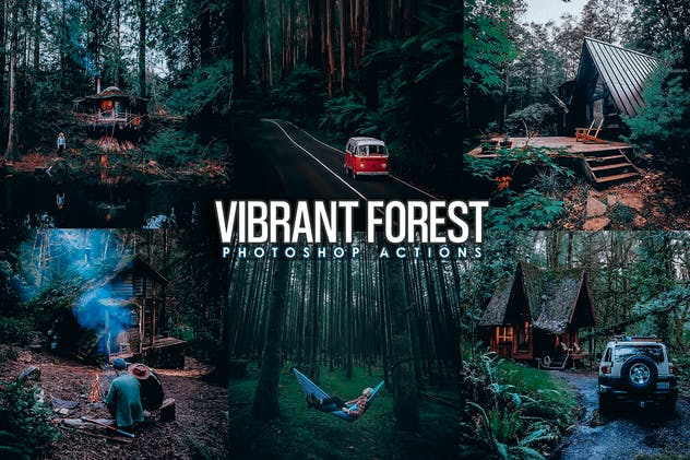 Vibrant Forest Effects Photoshop Actions - product preview 3