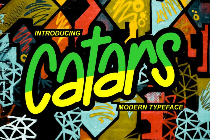 Thumbnail for Catars | Modern Typeface