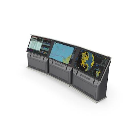 Naval Monitors Radar System