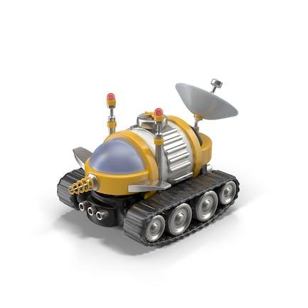 Cartoon Space Car