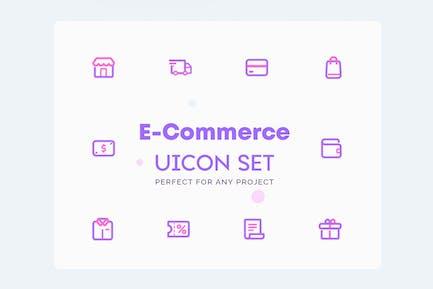 UICON E-Commerce Boutique en ligne Icones