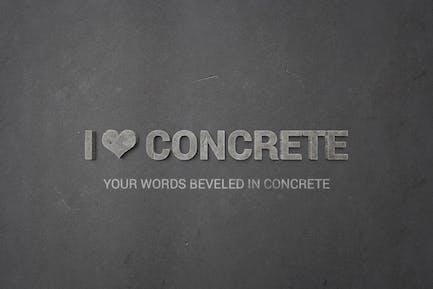 I ♥ Concrete — Estilos de Objeto Inteligente para Photoshop