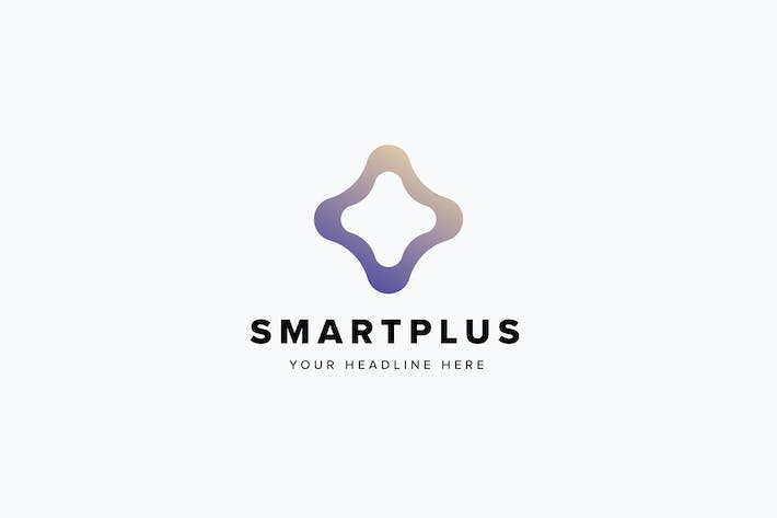Thumbnail for Smart Plus Logo Template