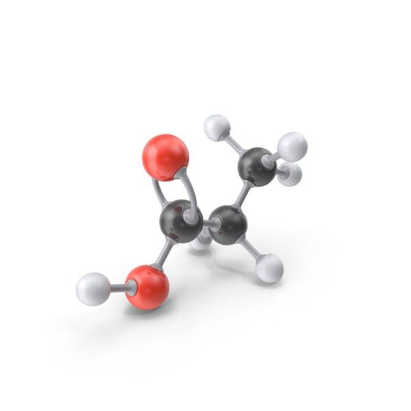Thumbnail for Propionic Acid Molecule
