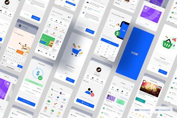 Dasun - Digital Wallet Mobile Ui Kit