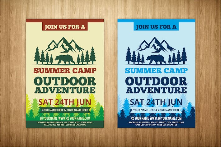 Thumbnail for summer camp flyer 2