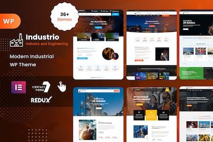 Industrial - Industry & Factory WordPress
