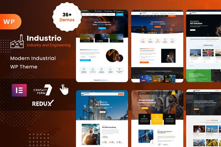 Thumbnail for Industrial - Industry & Factory WordPress