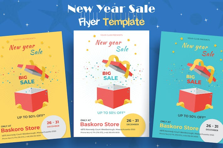 Thumbnail for New Year Sale Flyer-02