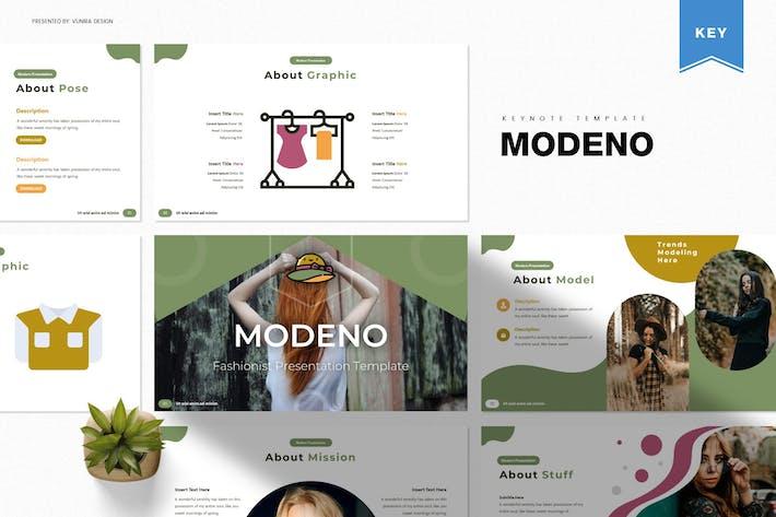 Modeno | Шаблон Keynote