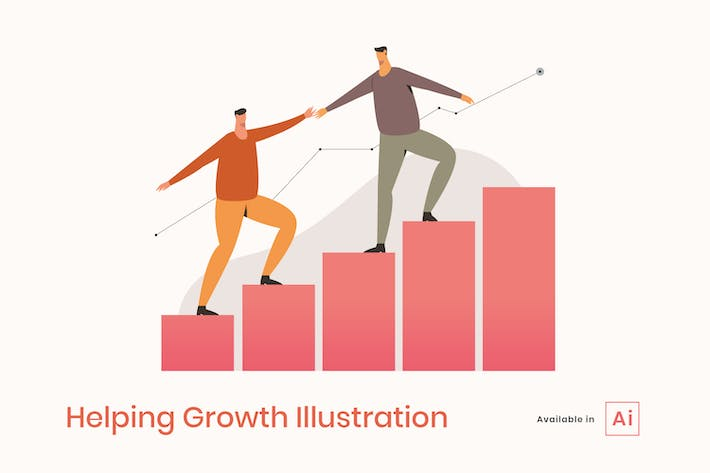 Thumbnail for Helping Growth Illustration