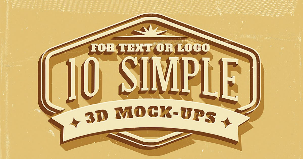 Download Simple 3d text and logo effects by cruzine