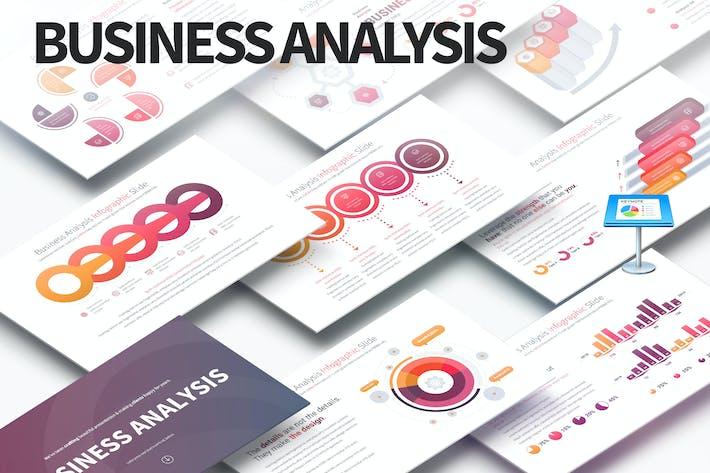 Thumbnail for Business Analysis - Keynote Infographics Slides