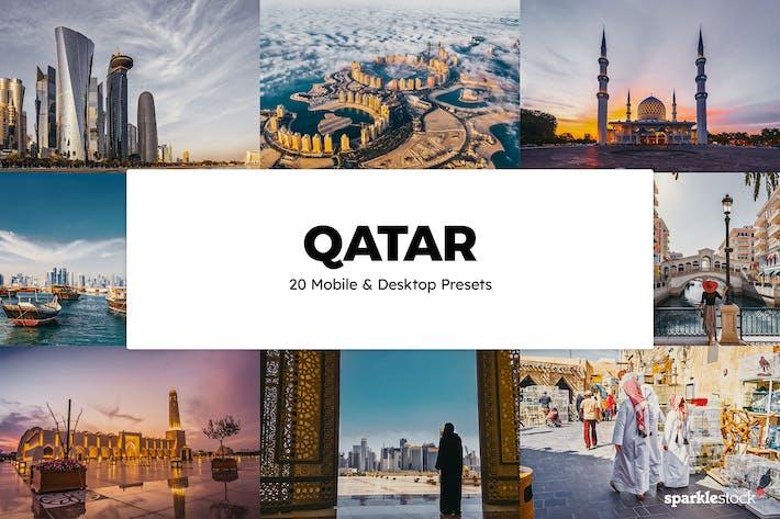 20 пресетов и LUT Qatar Lightroom