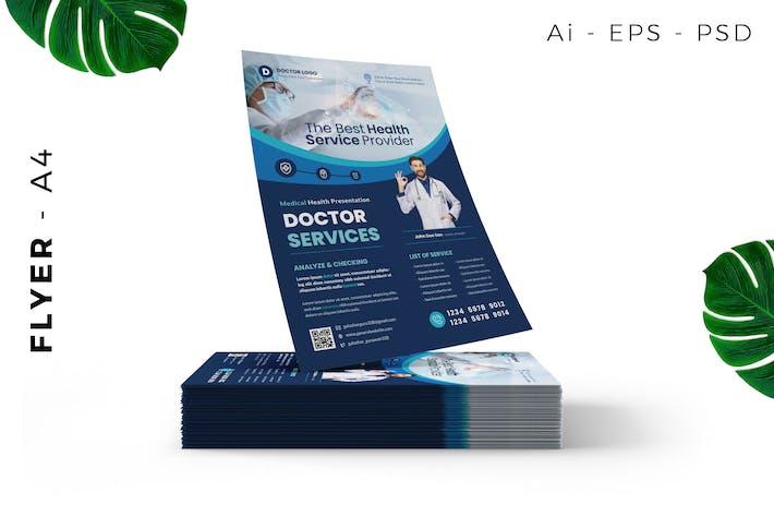 Thumbnail for Facharzt/Medizinische Flyer Design