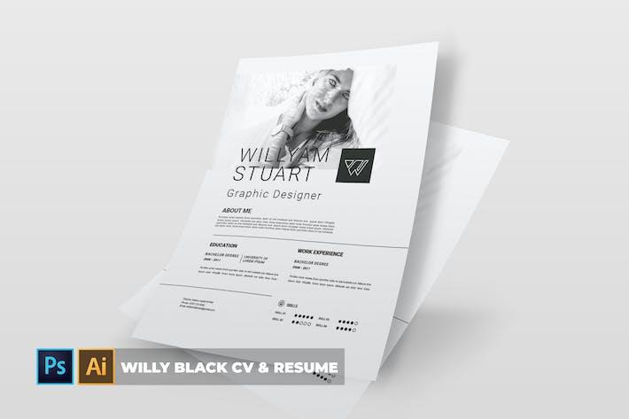 Thumbnail for Willy Black | CV & Resume