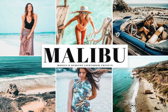 Thumbnail for Malibu Mobile & Desktop Lightroom Presets