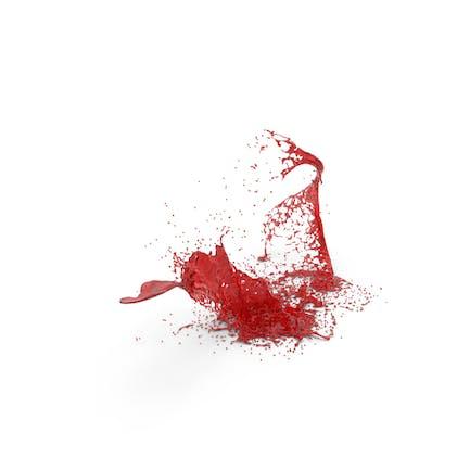 Salpicón líquida roja