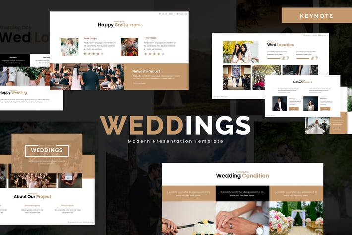 Thumbnail for Wedding - Keynote Template