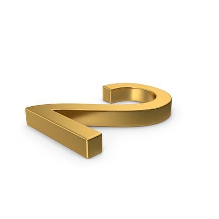 Number 2 Gold